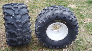 For a Quad/ Wild cat tires