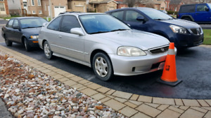 1999 Honda Civic Si Automatic as is