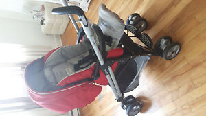 Peg perego switch stroller  and  co sleeper