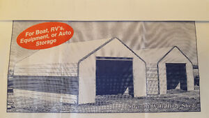 New 18' x 24' metal building (shed)