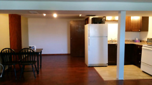 1 bedroom basement apartment in amherstview.