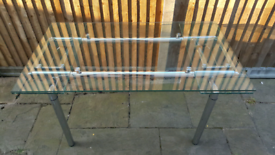RRP £600 Glass Extendable Dining Table