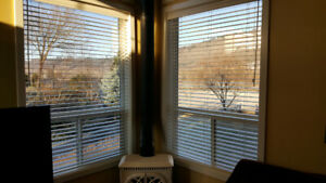 "Wooden Venetian Blinds 46""wide x 70"" tall"