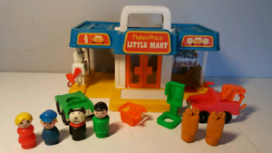 FISHER PRICE vintage 2580 LITTLE MART