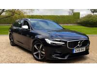 2018 Volvo V90 D4 R Design Estate Auto with S Automatic Diesel Estate