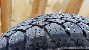Set of 4 winter tires for sale! About 75-80% left. See pics.