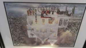 Walter Campbell signed print.  Perfect for Christmas!