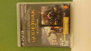 PS3 GOD OF WAR COLLECTION PACK GAMES