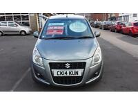 2014 SUZUKI SPLASH 1.2 SZ4 Automatic From GBP6,995 + Retail Package