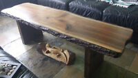 Live Edge and Reclaimed Wood Dining/Coffee/Boardroom Tables