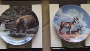 Wild & Free Collector Plates