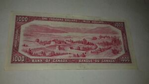 Billet de $1.000 - $1,000 Banknote Gatineau Ottawa / Gatineau Area image 2