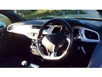 2011 Citroen DS3 1.6 VTi 16V Black 3dr Manual Petrol Hatchback