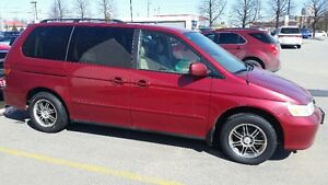 2003 Honda Odyssey EXL Minivan, Van