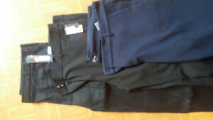 women pants and assorted box of clothes