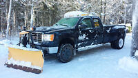 Snow Removal -For Hire by Storm Only, Truck  V Plow