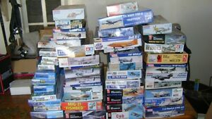 49 Mint Model Airplane & Ship Kits - New in Box - buy any or all