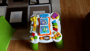 Leap frog learning table / Fischer Price zebra