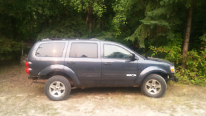 Dodge Durango 2007 parts or repair, 4.7 heated leather