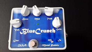 Metal Pedals: Blue Crunch