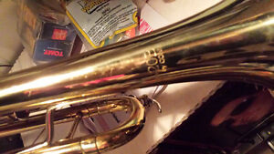 Vintage Conn trumpet B 20