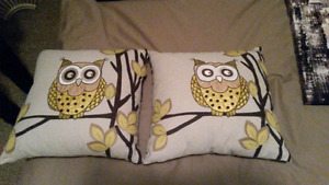 High quality owl pillows