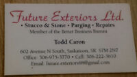 STUCCO & STONE - PARGING & REPAIRS