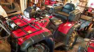 Parting out a 03 honda 500