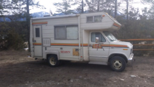 19ft Motorhome  ford security 1979