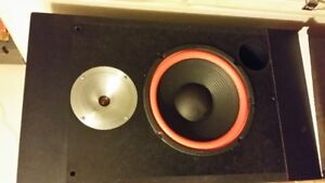 Vintage Sound Dynamics 10s Speakers  Home Stereo