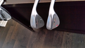 Two vokey wedges  52 and 60 degree