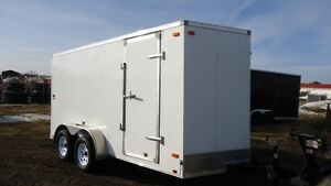 """2017 Look 7x14 ST Enclosed trailer + 6"""" Height"""