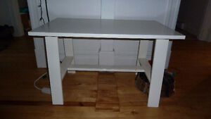 table basse ikea blanche