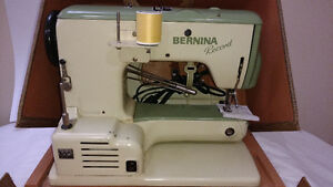 Bernina Record 530 with case and cabinet Windsor Region Ontario image 3