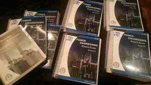 Power engineer 4th class panglobal textbooks and workbooks