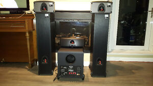 Klipsch synergy speakers and sub