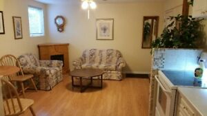 Bright and Clean Furnished Suite
