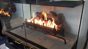 Natural Gas Fireplace