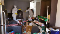 HOARDING CLEANUP, HOARDERS CLEANING, NETTOYAGE DE THÉSAURISATION