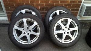 17inch Infiniti rims and tires