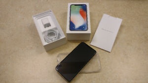 iPhone X White 64GB AppleCare Included - Unlocked