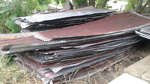 Reclaimed Galvanized Steel Roofing For Sale