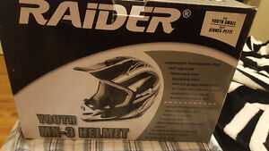 Raider, youth size small, helmet