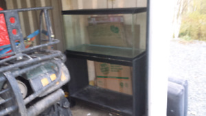25 Gallon terrarium with stand and lid