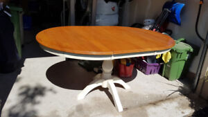 Maple Kitchen Table and 4 Chairs For Sale