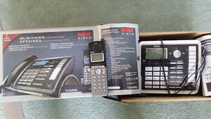 2 line Business phone with extra hand set