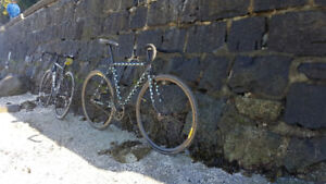 Custom Fuji Racing Fixed Gear Bicycle - For Sale