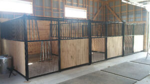 Horse Stalls, Gates and Round Pens