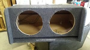 """JL AUDIO SPEAKER BOX (BOX ONLY) PORTED FITS 2 x 12"""" SPEAKERS"""