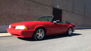 1993 Ford Mustang Cuir Cabriolet